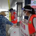 「令和3年7月大雨災害静岡県義援金」のための街頭募金活動を行いました‼